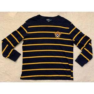 Polo Ralph Lauren Mens Striped Shirts Sz XL Blue